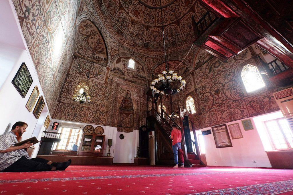 Albania, Tirana, The Et'hem Bey Mosque