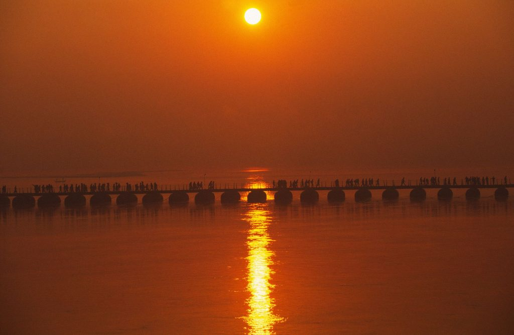 India, Allahabad, Kumbh Mela