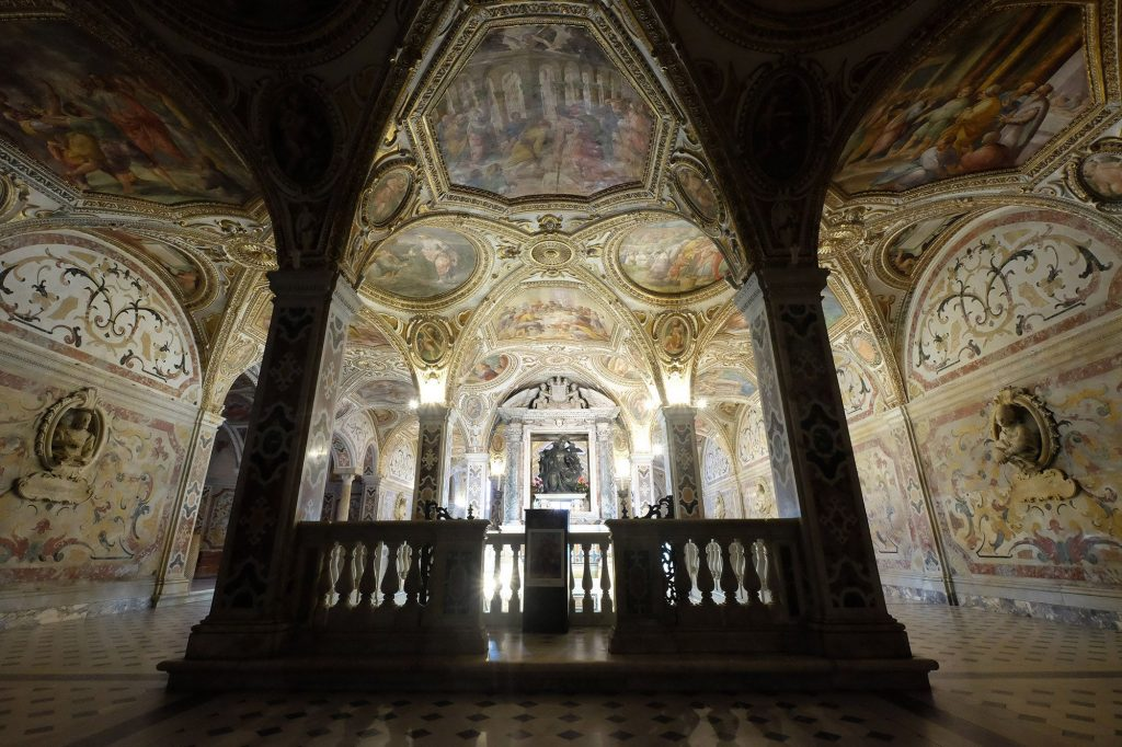 Italy, Crypt Of Salerno Catherdral