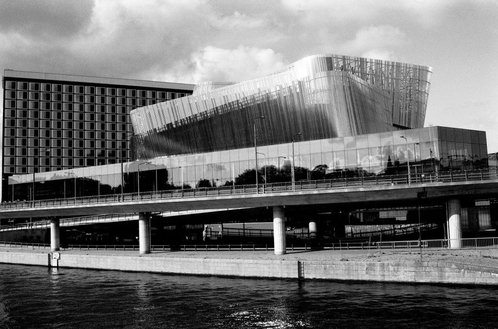 Sweden, Stockholm, Waterfront Building